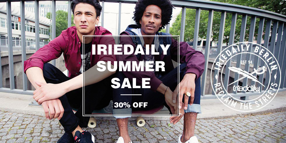 IRIEDAILY SUMMER SALE 2017