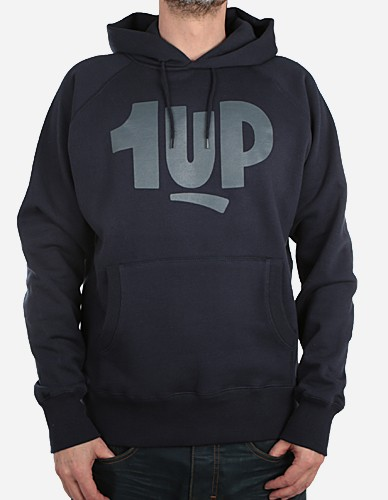 1Up - New Logo Hoodie marineblau