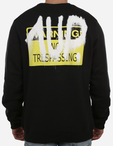 1Up - No Trespassing Sweater black