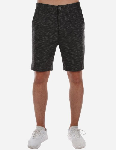 iriedaily - Pindot 2 Sweat Short black mel.