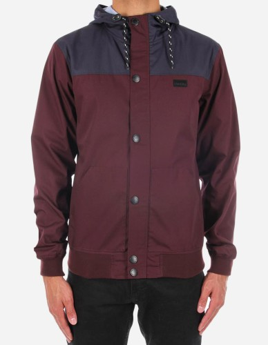 iriedaily - Segelprofi Jacket red wine