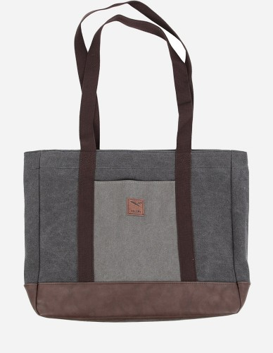 iriedaily - Heavy Tote Bag anthra mel