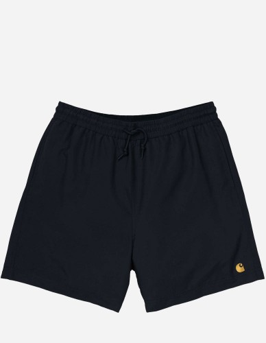 Carhartt WIP - Chase Swim Trunks black gold