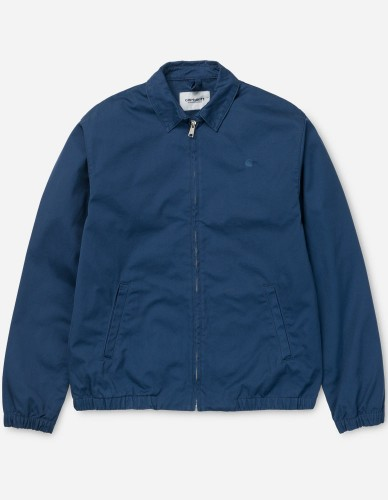 Carhartt WIP - Madison Jacket Cotton Questa blue rinsed