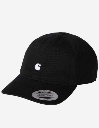 Carhartt WIP - Madison Logo Cap black wax