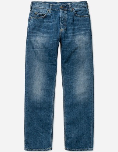 Carhartt WIP - Marlow Pant Otero blue gravel washed