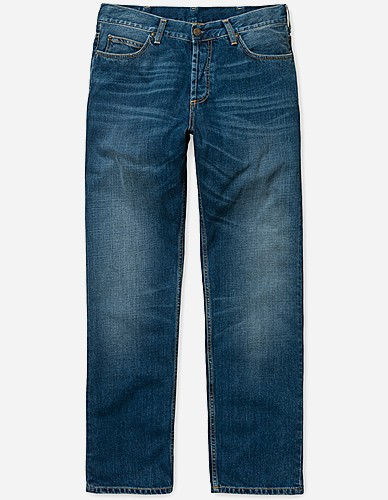Carhartt WIP - Marlow Pant Otero blue strand washed