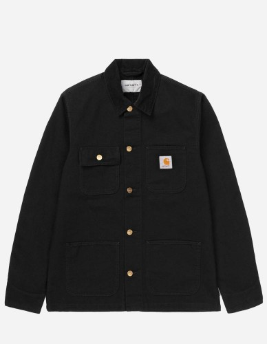 Carhartt WIP - Michigan Coat black rinsed