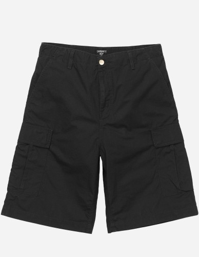 Carhartt WIP - Cargo Short Columbia black rinsed