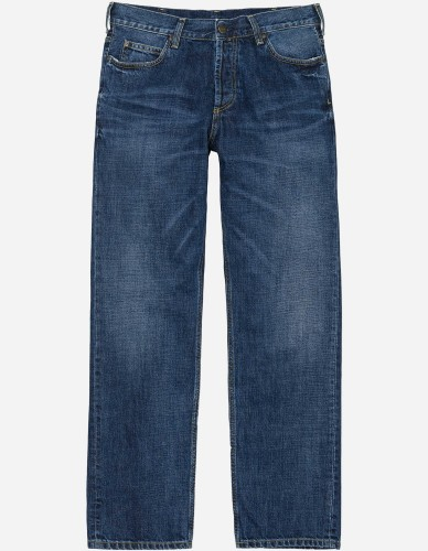 Carhartt WIP - Marlow Pant Edgewood blue natural dark wash