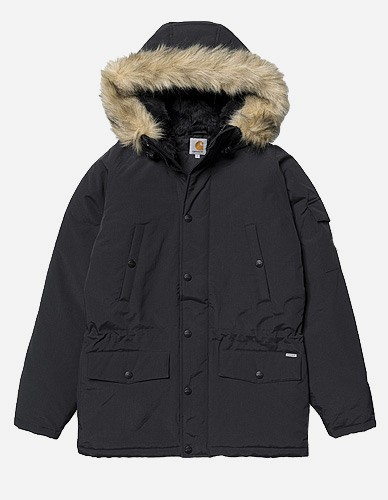 Carhartt WIP - X' Anchorage Parka black black