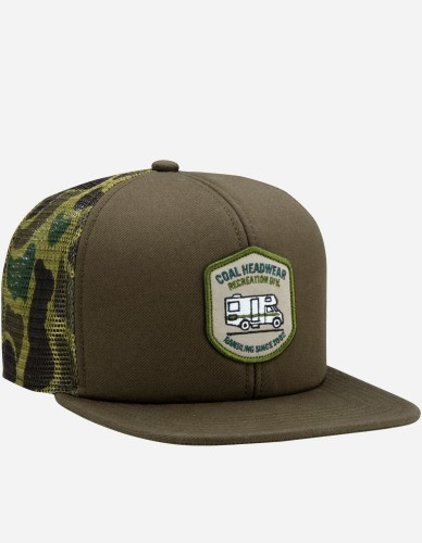Coal - The Rambler Cap olive