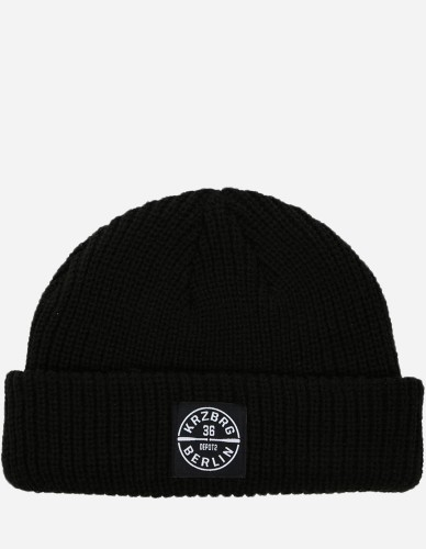 Depot2 Berlin - Dock Beanie Bat Stamp black / black