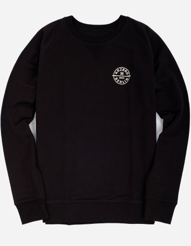 Depot2 Berlin - Bat Stamp Organic Sweat black