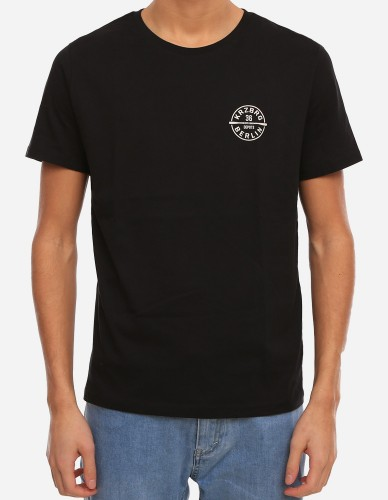 Depot2 Berlin - Bat Stamp Organic Tee black
