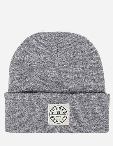 Depot2 Berlin - Beanie Stamp 36 heather grey