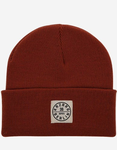 Depot2 Berlin - Beanie Stamp 36 rust