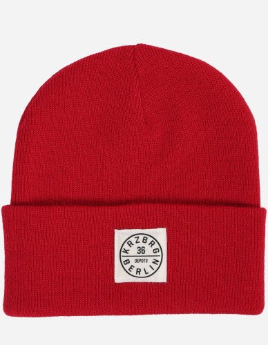 Depot2 Berlin - Beanie Stamp 36 classic red