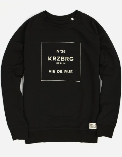 Depot2 Berlin - No 36 Kreuzberg Sweater black beige