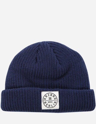 Depot2 Berlin - Dock Beanie Stamp 36 navy