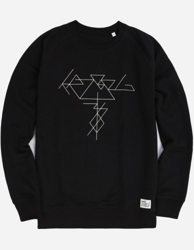 Depot2 Berlin - KRZ 36 Thinline Sweatshirt black white