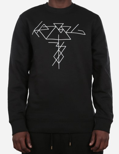 Depot2 Berlin - KRZ 36 Thinline II Organic Sweatshirt black