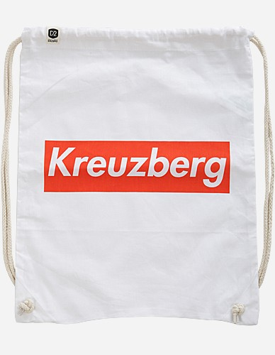 Depot2 Berlin - Kreuzberg Super Bag, white