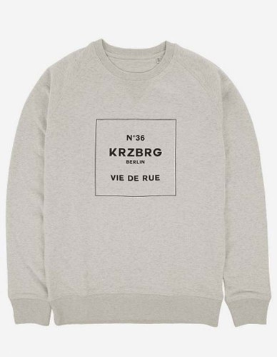 Depot2 Berlin - No 36 Kreuzberg Sweater Organic creme heather, grey