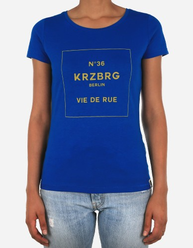 Depot2 Berlin - No 36 Kreuzberg Girl Tee royal mustard