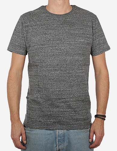 Depot2 Berlin - Organic Tee slub heather steel grey