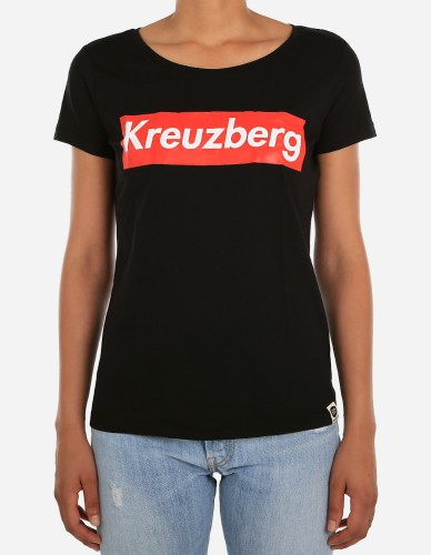 Depot2 Berlin - W' Kreuzberg Super Tee black/red