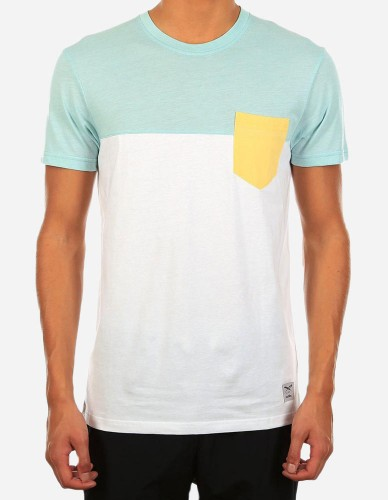 iriedaily - Block Pocket 2 Tee mint