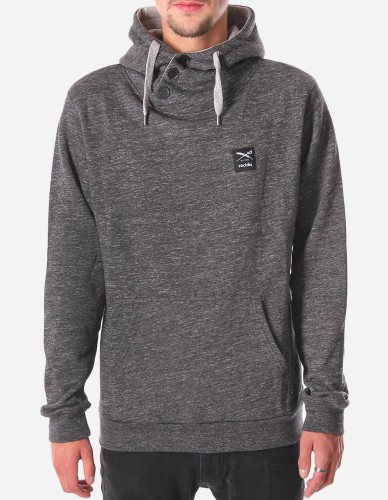 iriedaily - Chamisso 2 Up Hoody black anthra