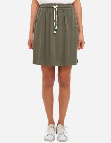 iriedaily - Civic Skirt olive