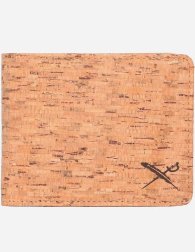 iriedaily - Cork Flag Wallet wood