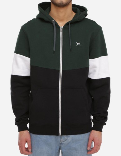iriedaily - Court Zip Hoody hunter