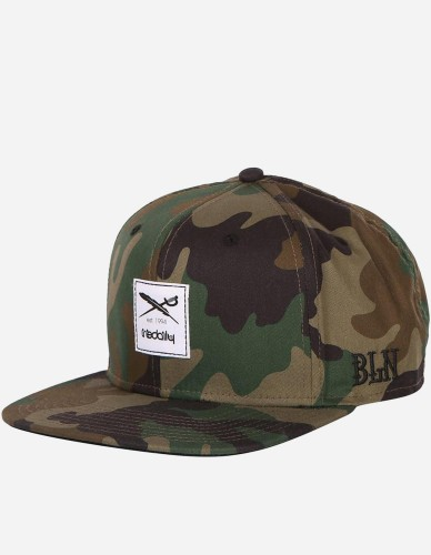 iriedaily - Daily Flag Snapback camou olive