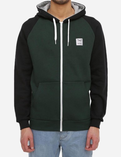 iriedaily - De College Zip Hood hunter