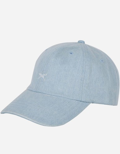 iriedaily - Denim Dad Cap vintage blue