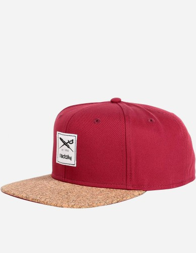 iriedaily - Exclusive Cork Cap maroon