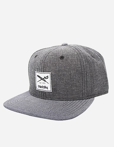 iriedaily - Flag Chambray Snapback black