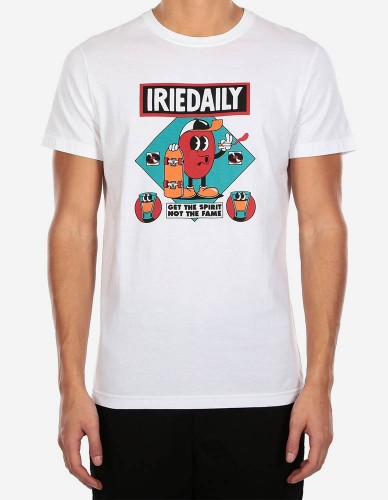 iriedaily - Get The Spirit Tee white