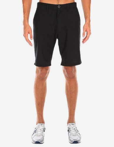 iriedaily - Golfer Chambray Short uni black