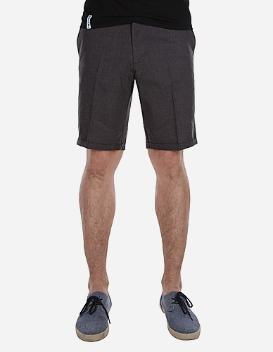 iriedaily - Golfer Chambray Short anthra mel