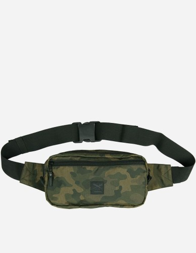 iriedaily - Gridstop Hip Pack camou olive