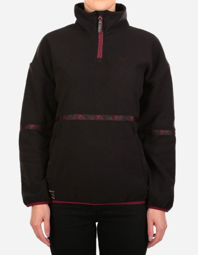 iriedaily - Hopi Fleece Troyer black