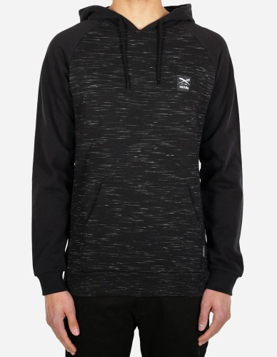 iriedaily - Injection Hoody black mel.