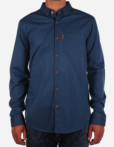iriedaily - Irie City LS Shirt navy blue