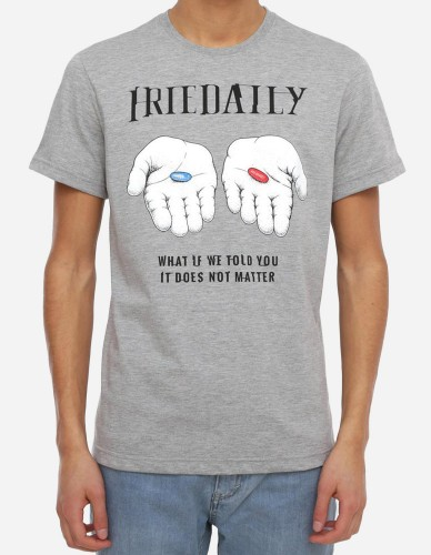 iriedaily - It Doesnt Matter Tee grey-mel.