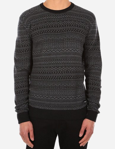 iriedaily - Naranjo Knit black anthra